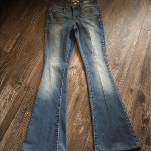 EUC: Vintage America hippie Skinny Flare 6/28 Jean
